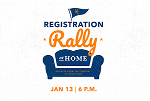 TSC Registration Rally at Home.